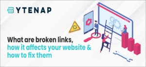 what are broken links