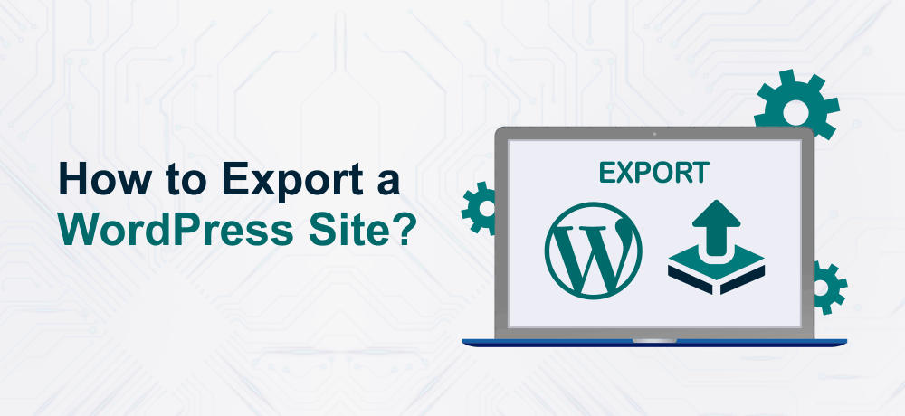 Export a WordPress Website